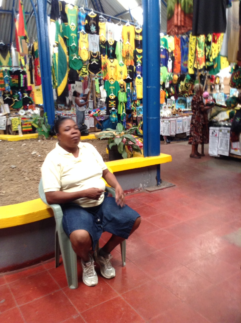 Port Antonio market
