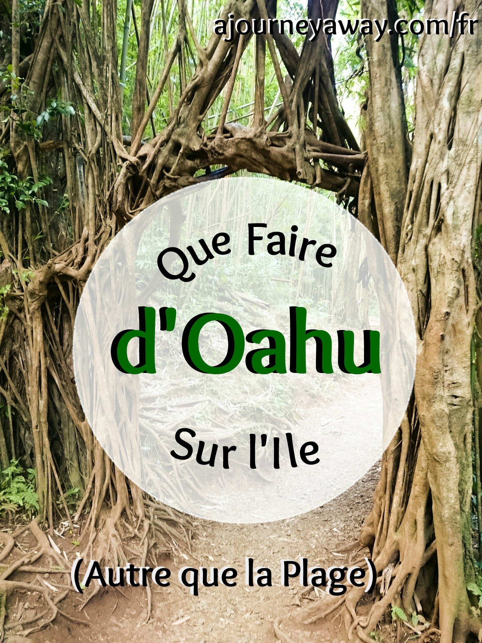 Que faire sur l'île d'Oahu, Hawaï (autre que la plage)