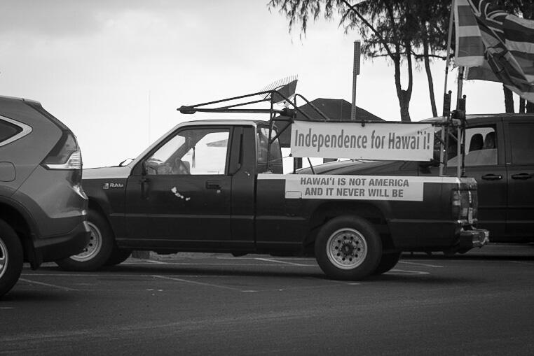 La résistance - Salt Pond beach, Kauai