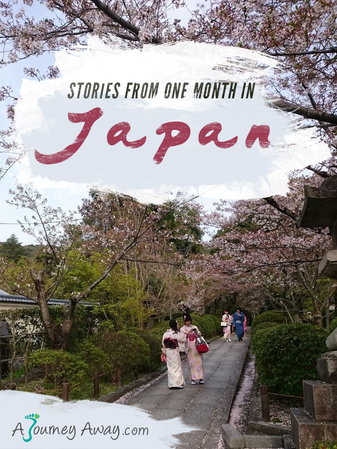 Stories from a month in Japan