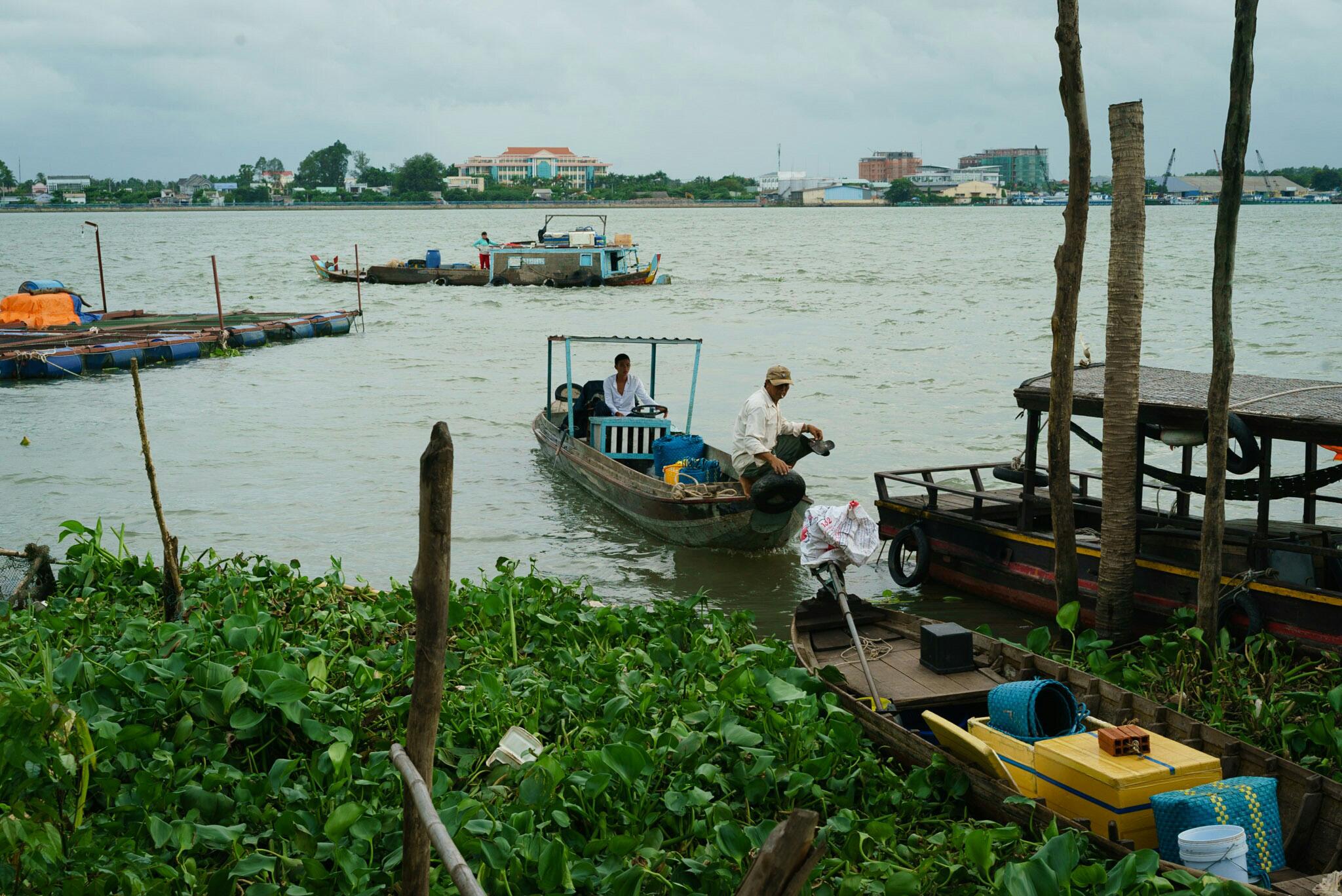 walk on An Binh island