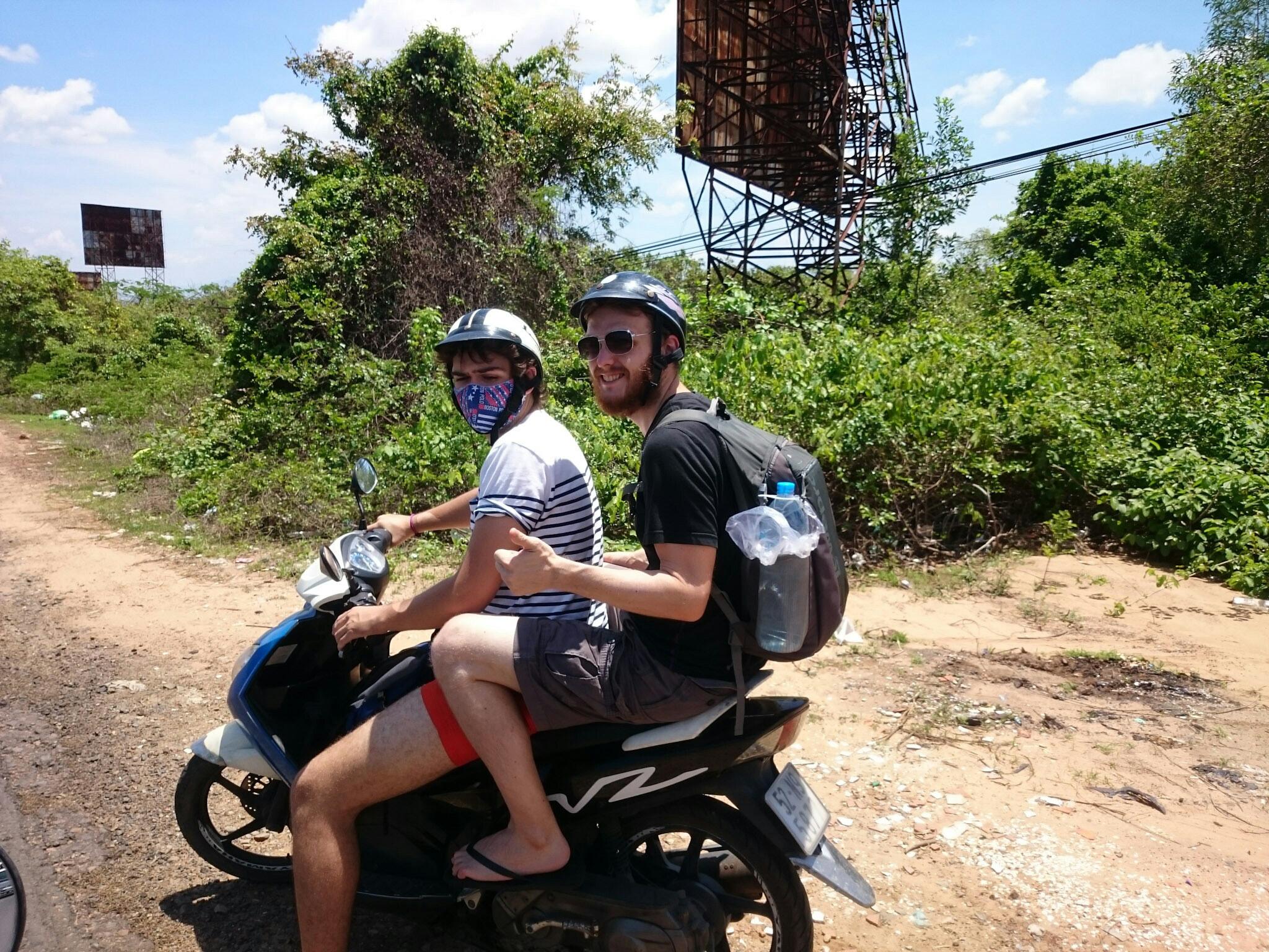 Motorbikes in Mui Ne
