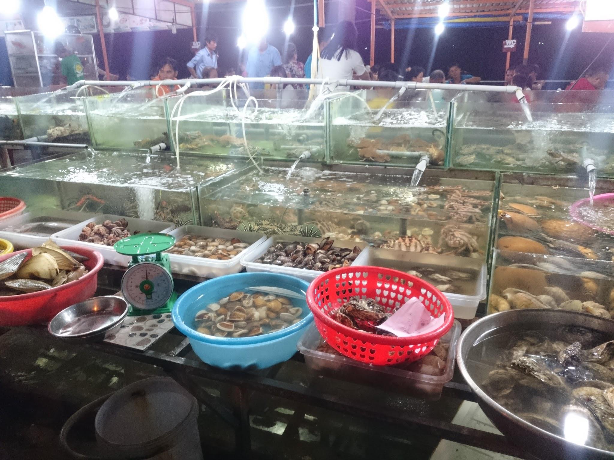 Seafood restaurant in Mui Ne