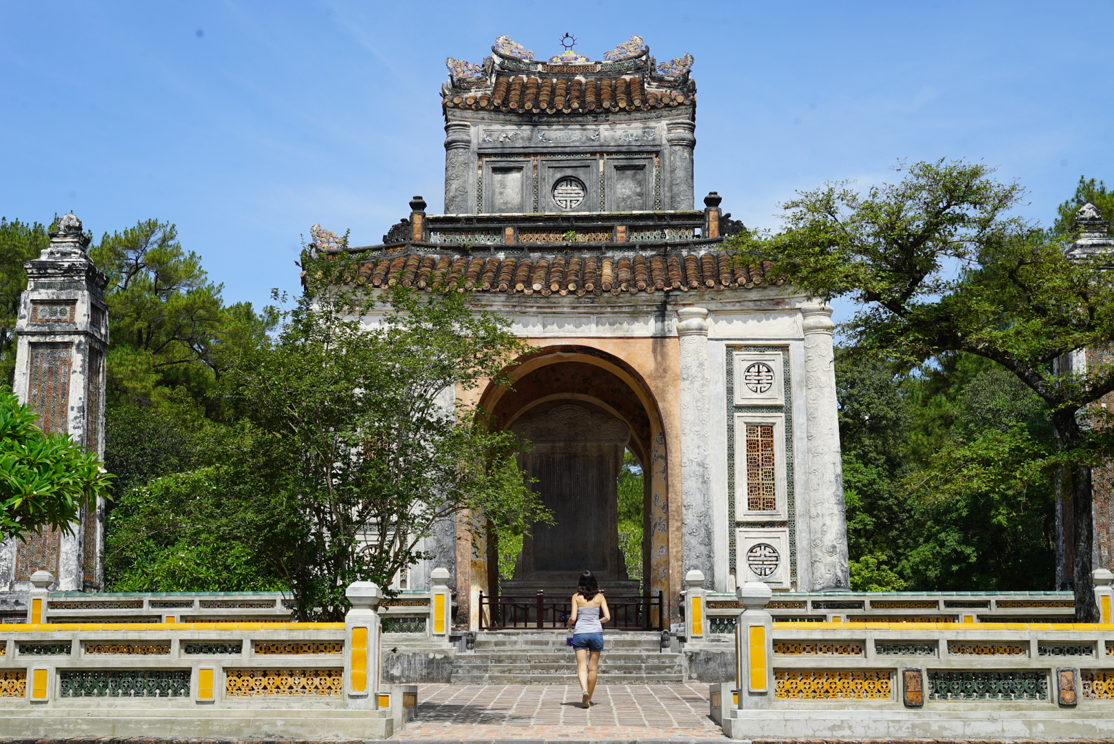 Tombeau de Tu Duc, Hué