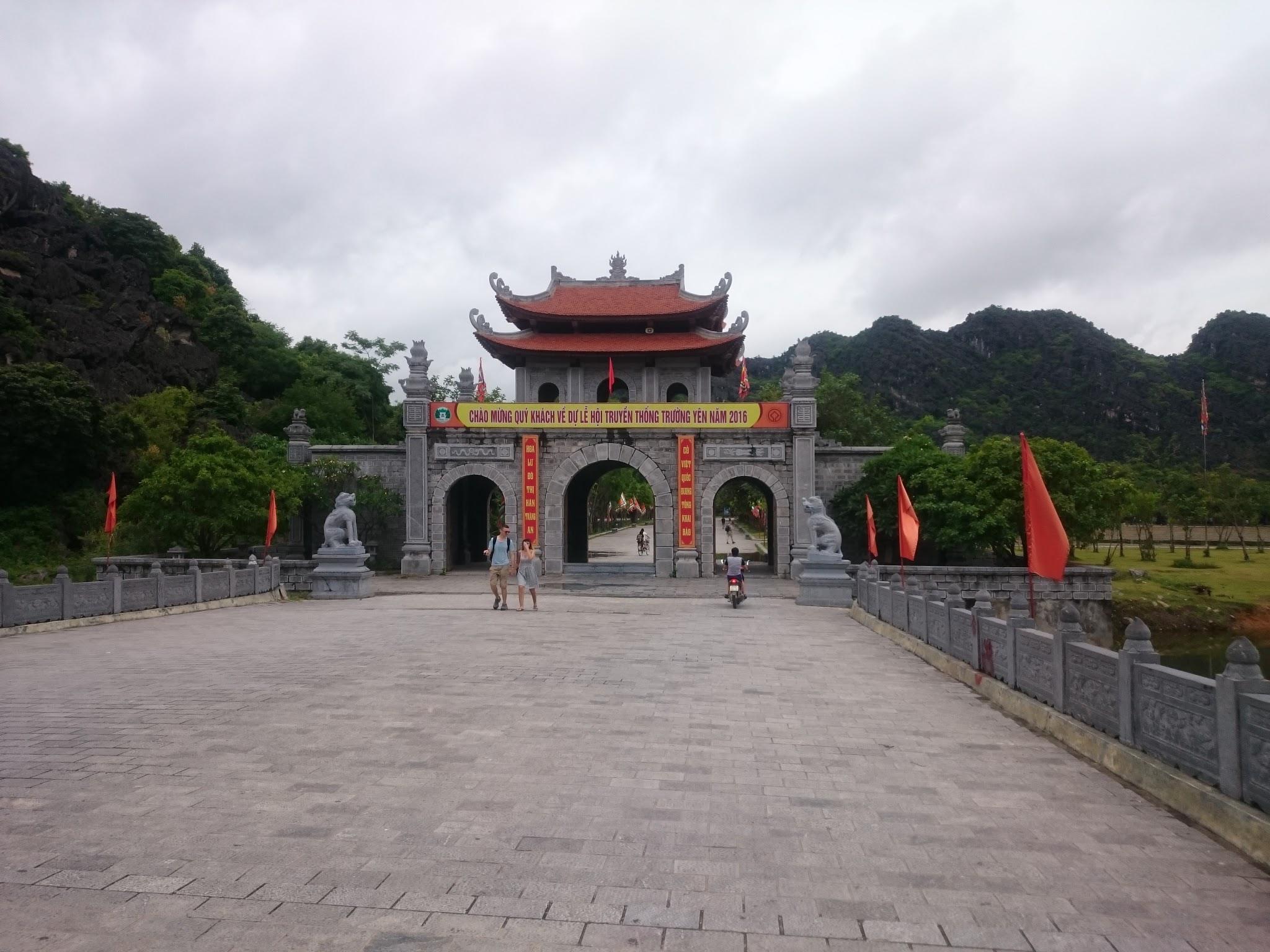 Temple in Tam Coc