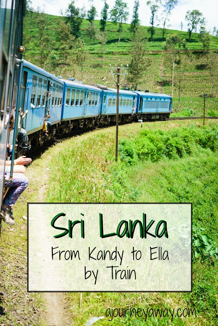 From Kandy to Ella by train, Sri Lanka