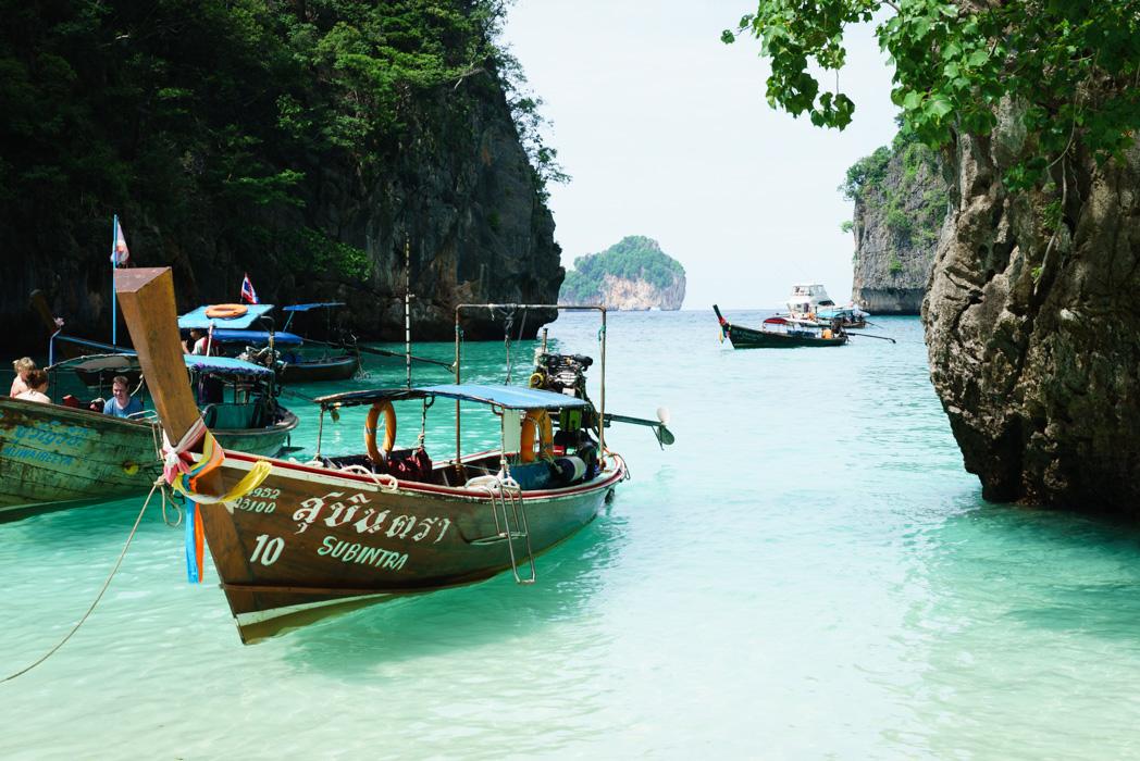 Loh Samah Beach, Koh Phi Phi Leh
