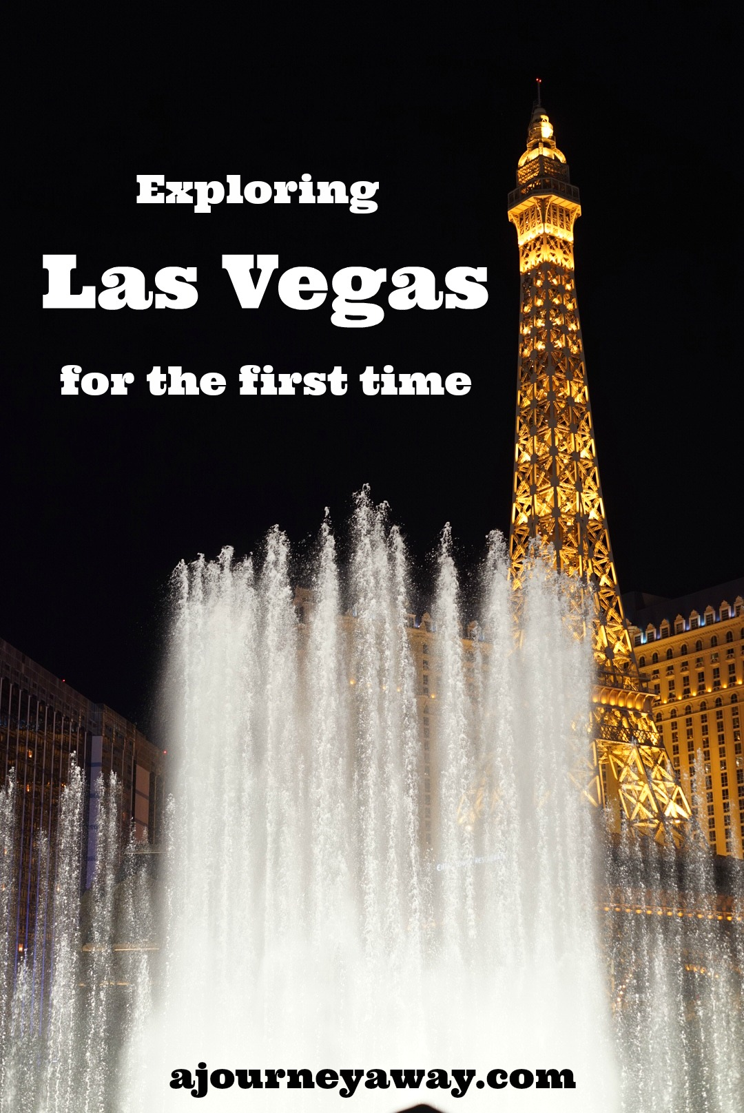 Exploring Las Vegas for the first time