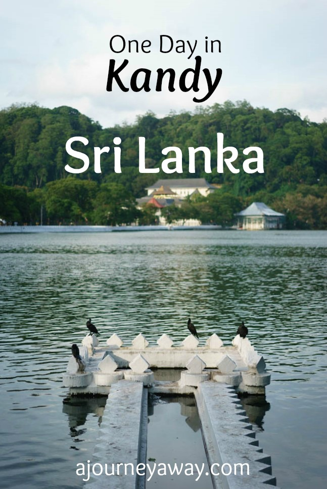 One day in Kandy, Sri Lanka