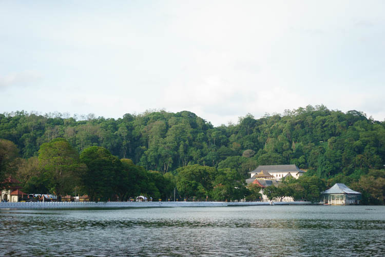 Lake in Kandy