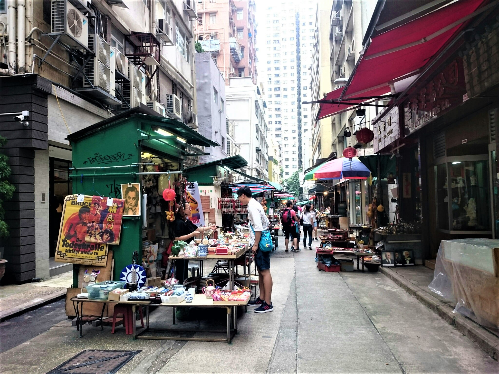 Hollywood Road, Wan Chai - Hong Kong