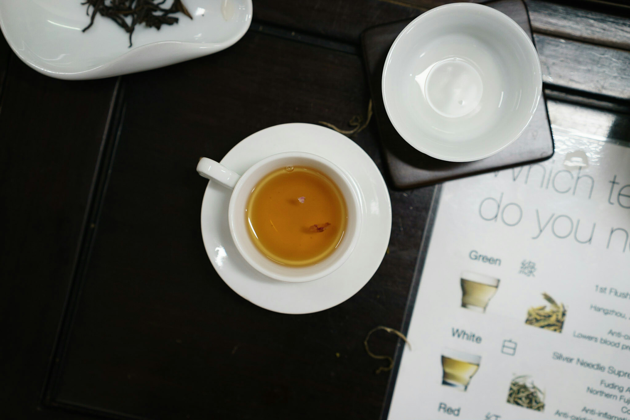 Tea tasting in Hong Kong