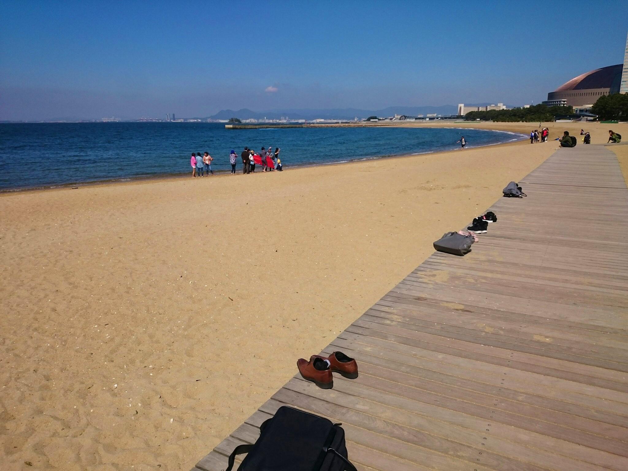 Momochi beach, Fukuoka