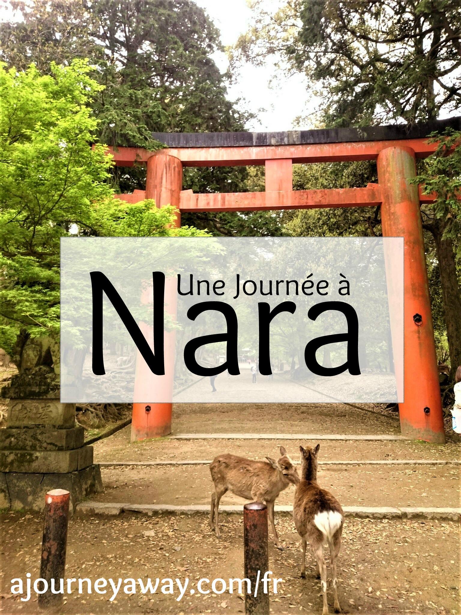 Une journée à Nara, Japon