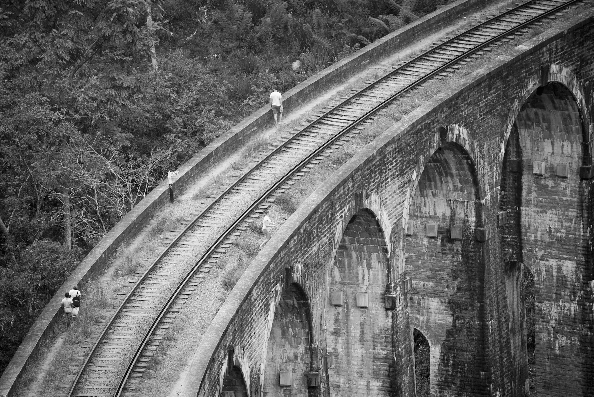Nine-arch bridge in Ella, Sri Lanka