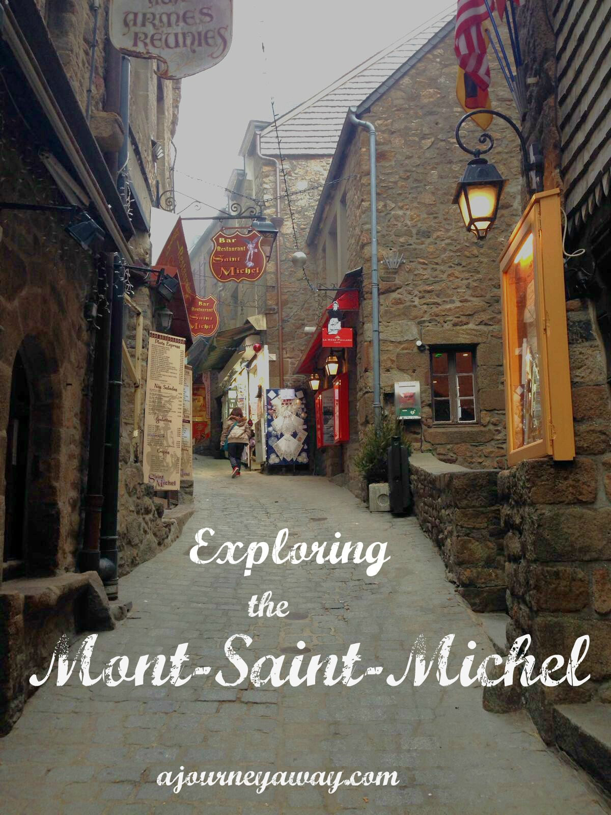 Exloring the Mont-Saint-Michel, France