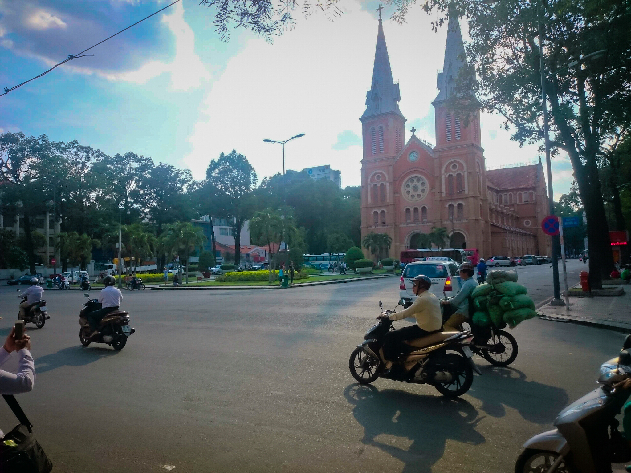 cathédrale d'Ho Chi Minh
