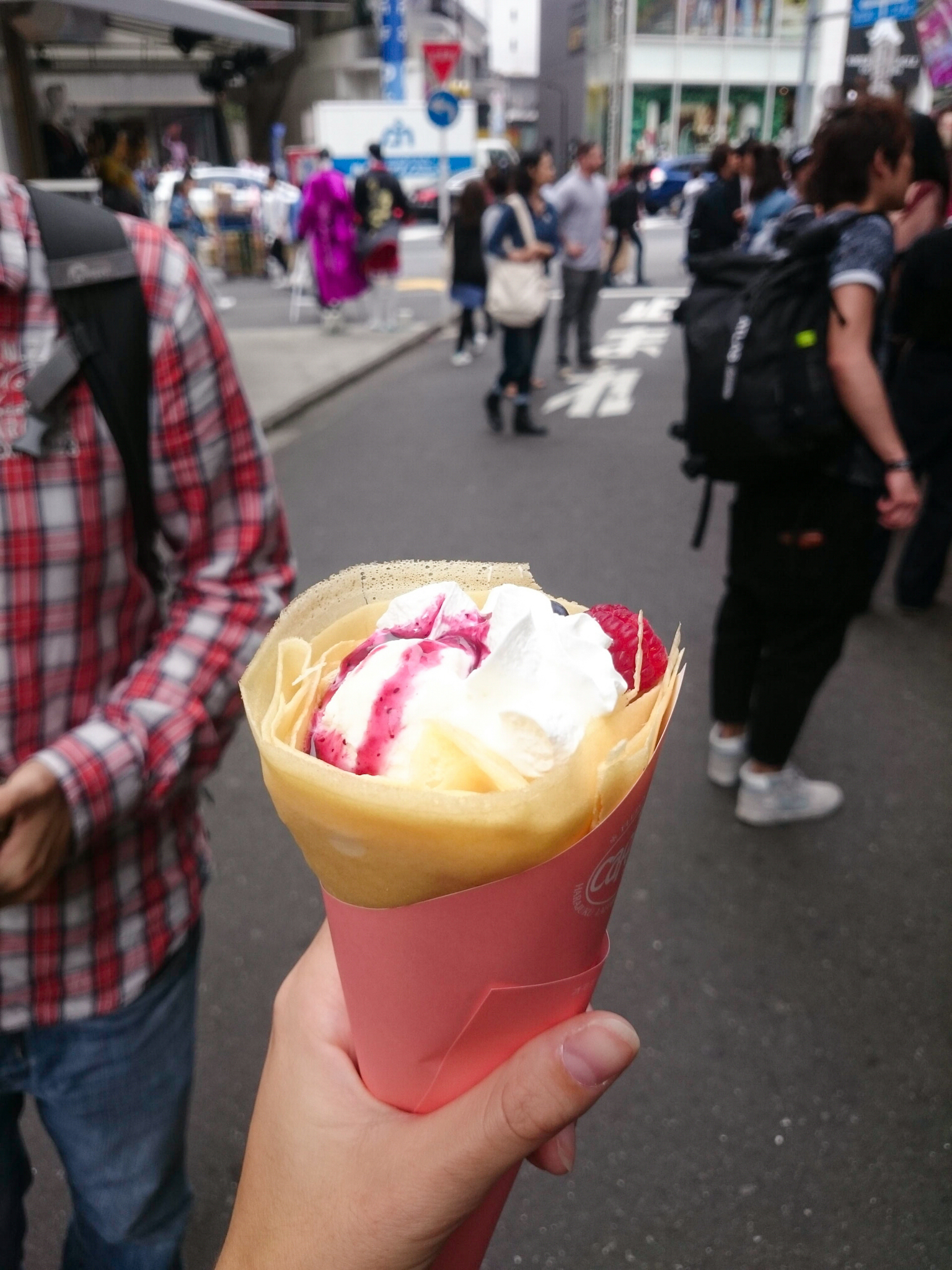 Petite crêpe à Harajuku, Tokyo