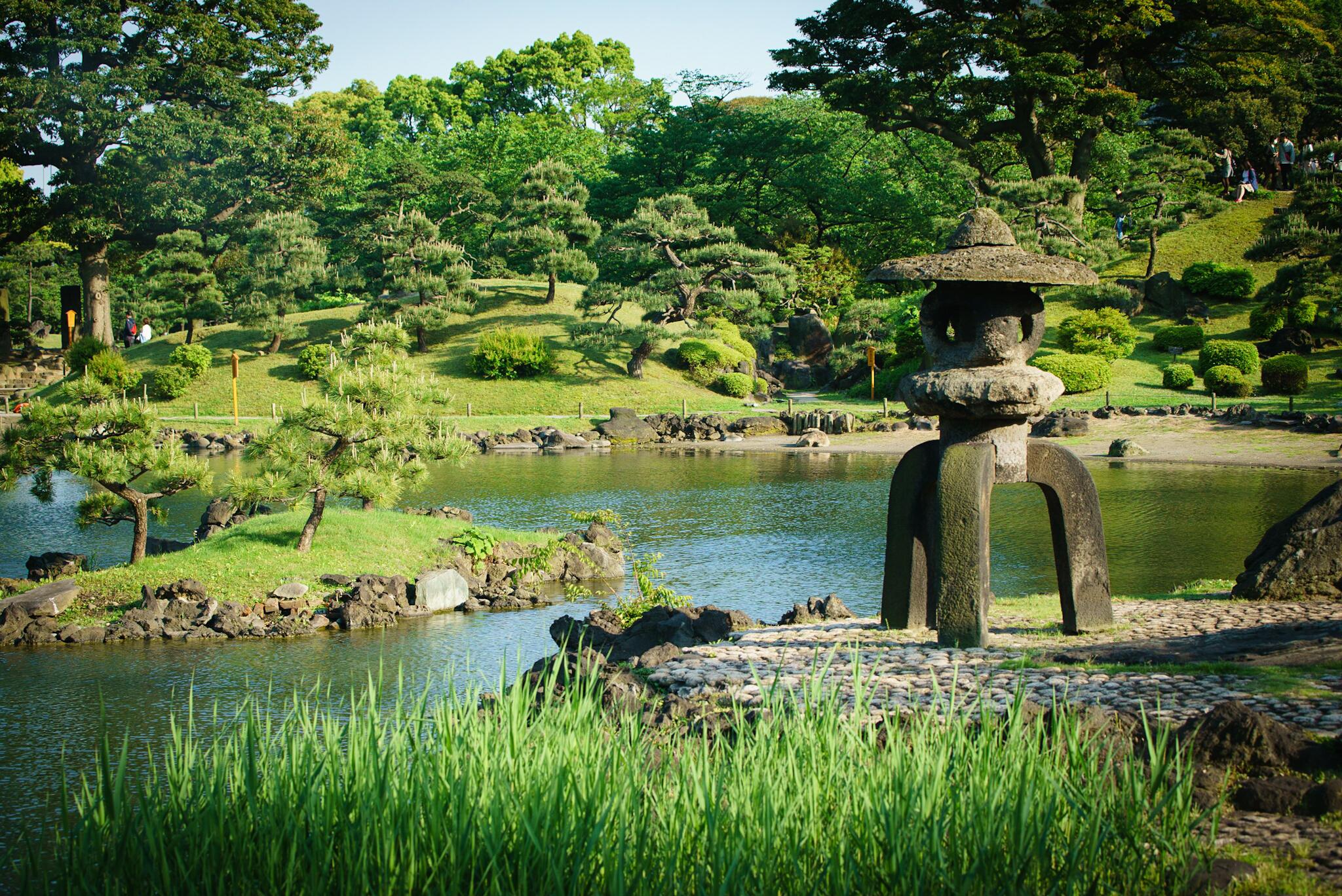 Jardin de Kyu Shiba Rikyu, Tokyo