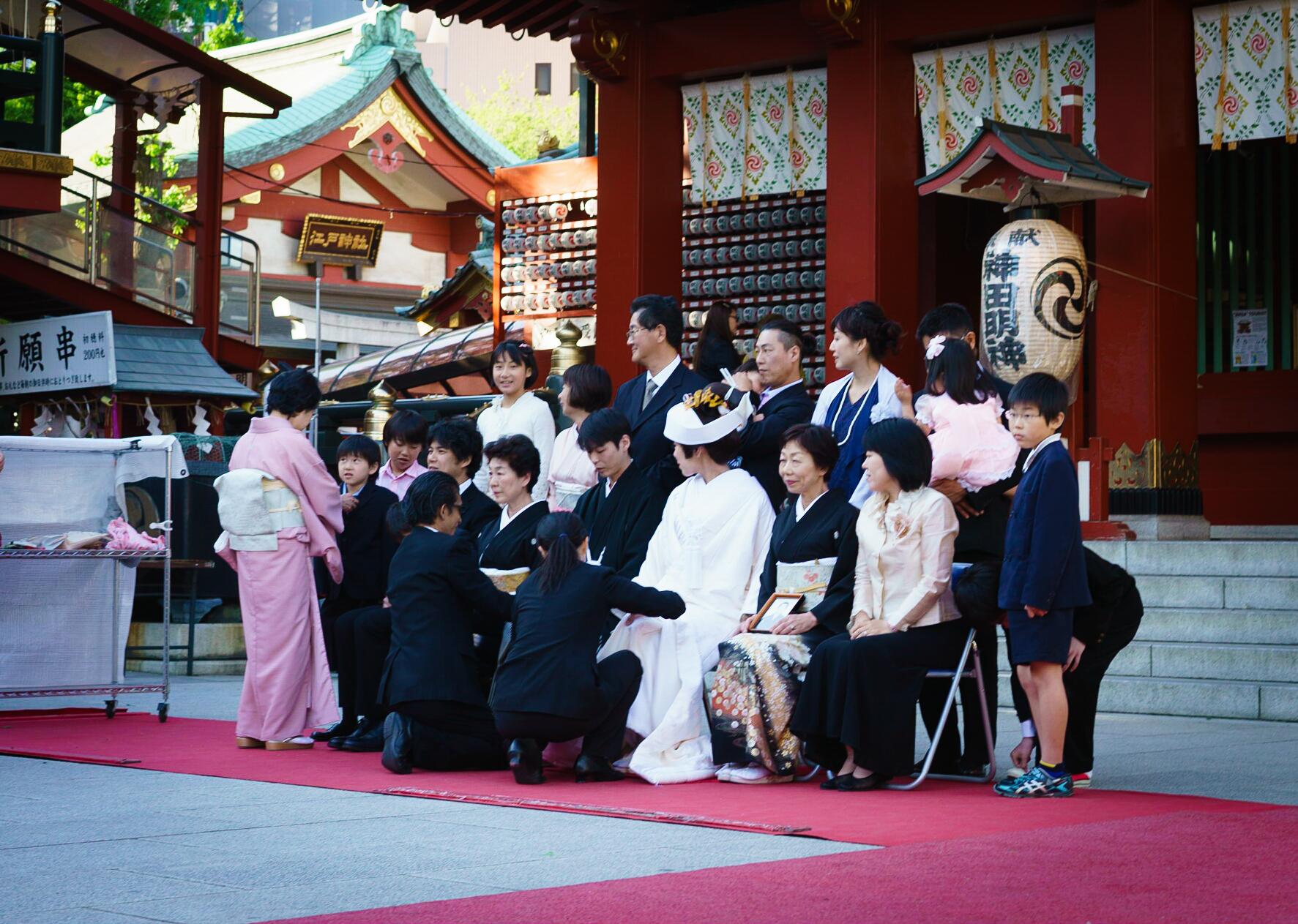 Mariage au sanctuaire de Kanda Myojin, Tokyo