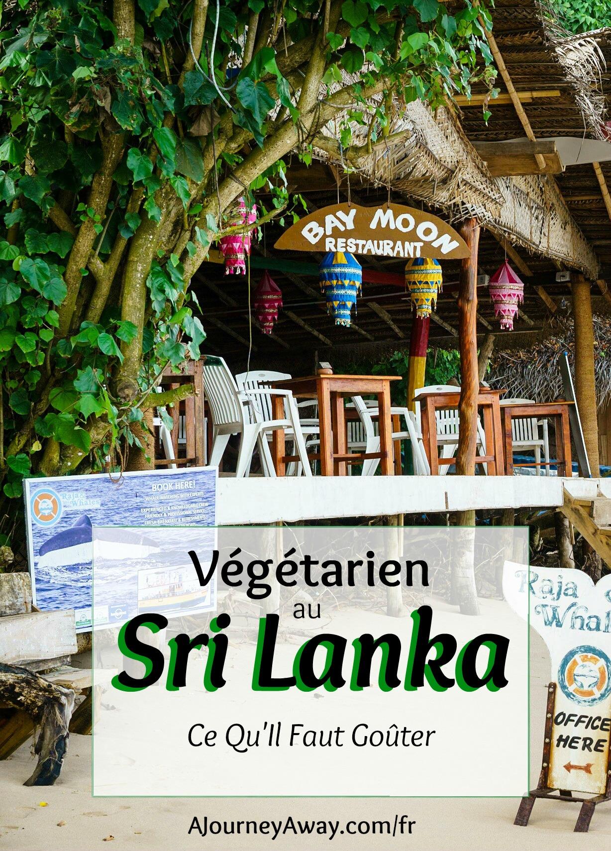 Végétarien au Sri Lanka : Ce Qu'Il Faut Goûter | Blog voyage A Journey Away