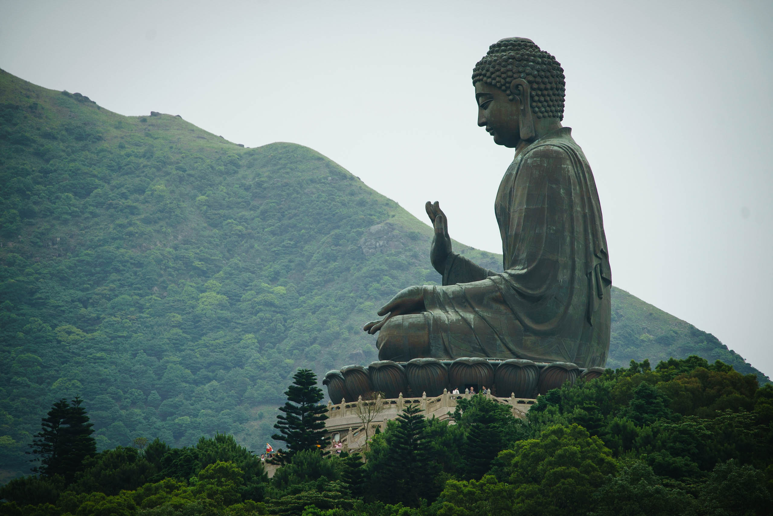 Le Grand Bouddha, Hong Kong