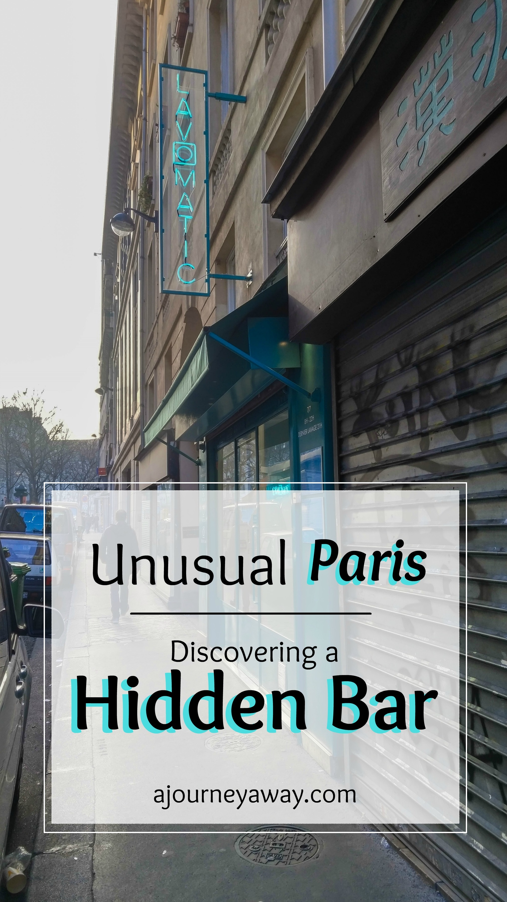 Unusual Paris: discover a Hidden bar | A Journey Away travel blog