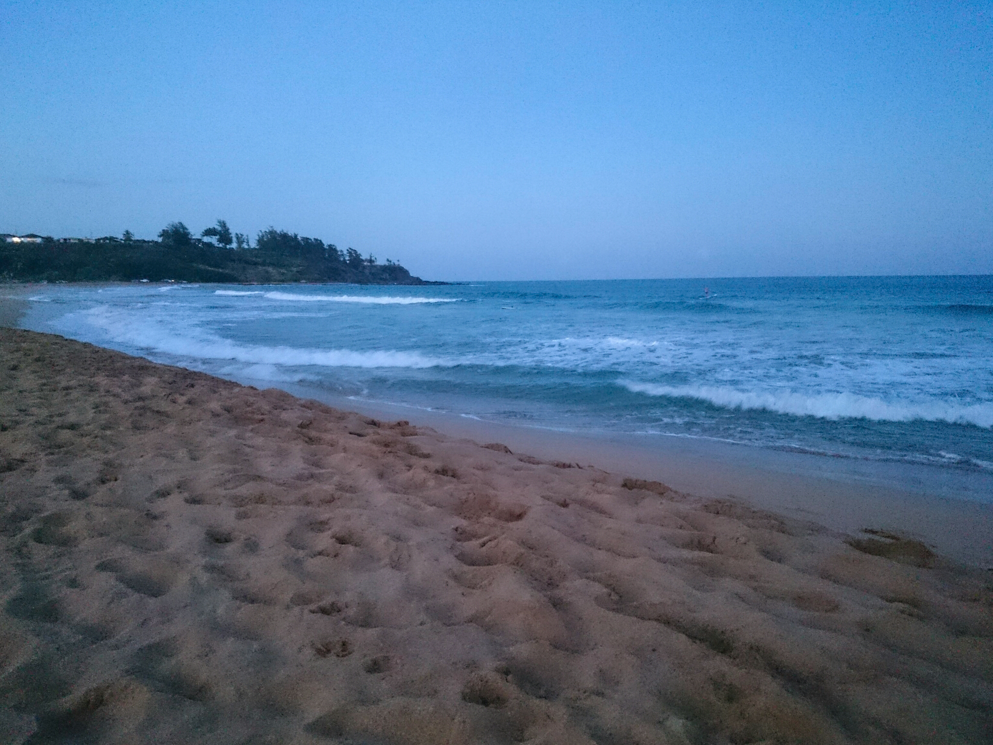 Kealia beach in Kauai, Hawaii