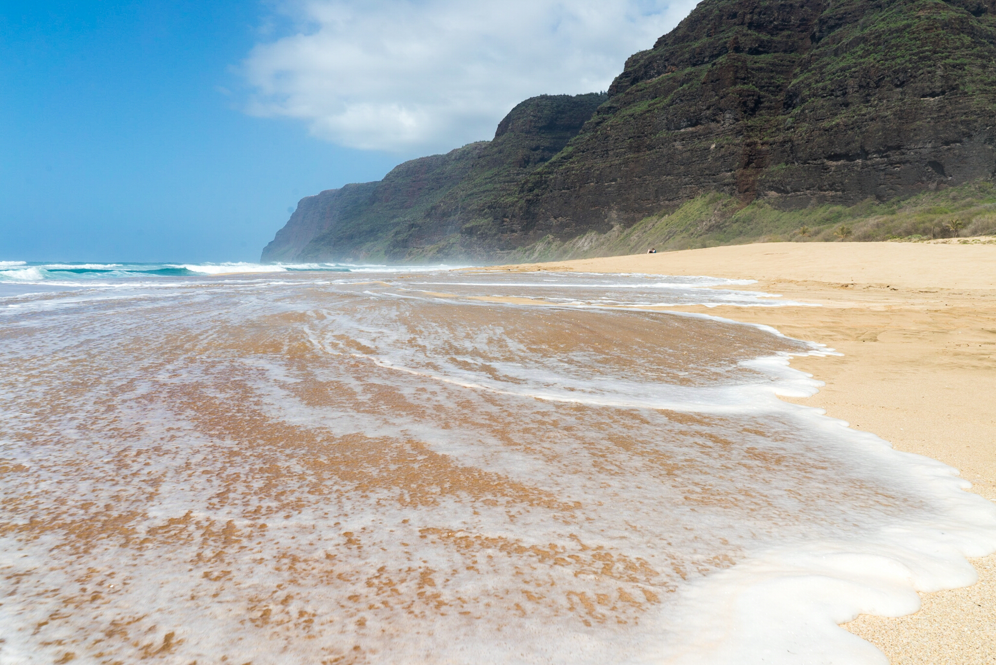 Polihale Beach in Kauai, Hawaii