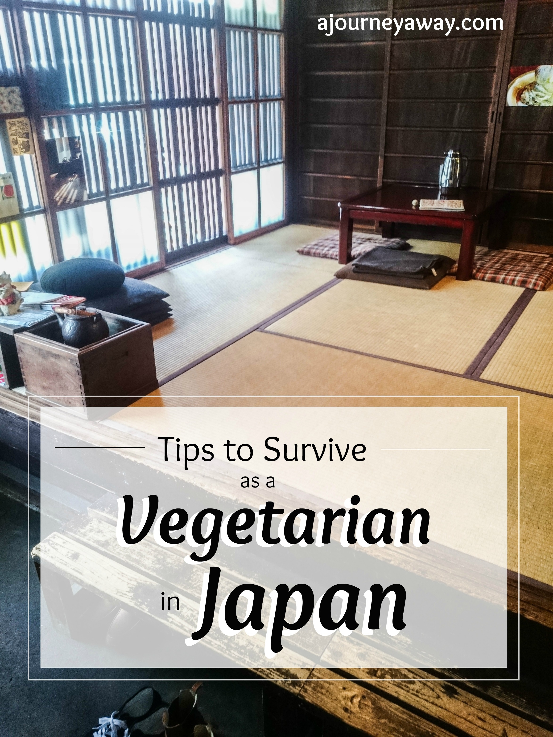 Tips to survive as a vegetarian in Japan | A Journey Away travel blog