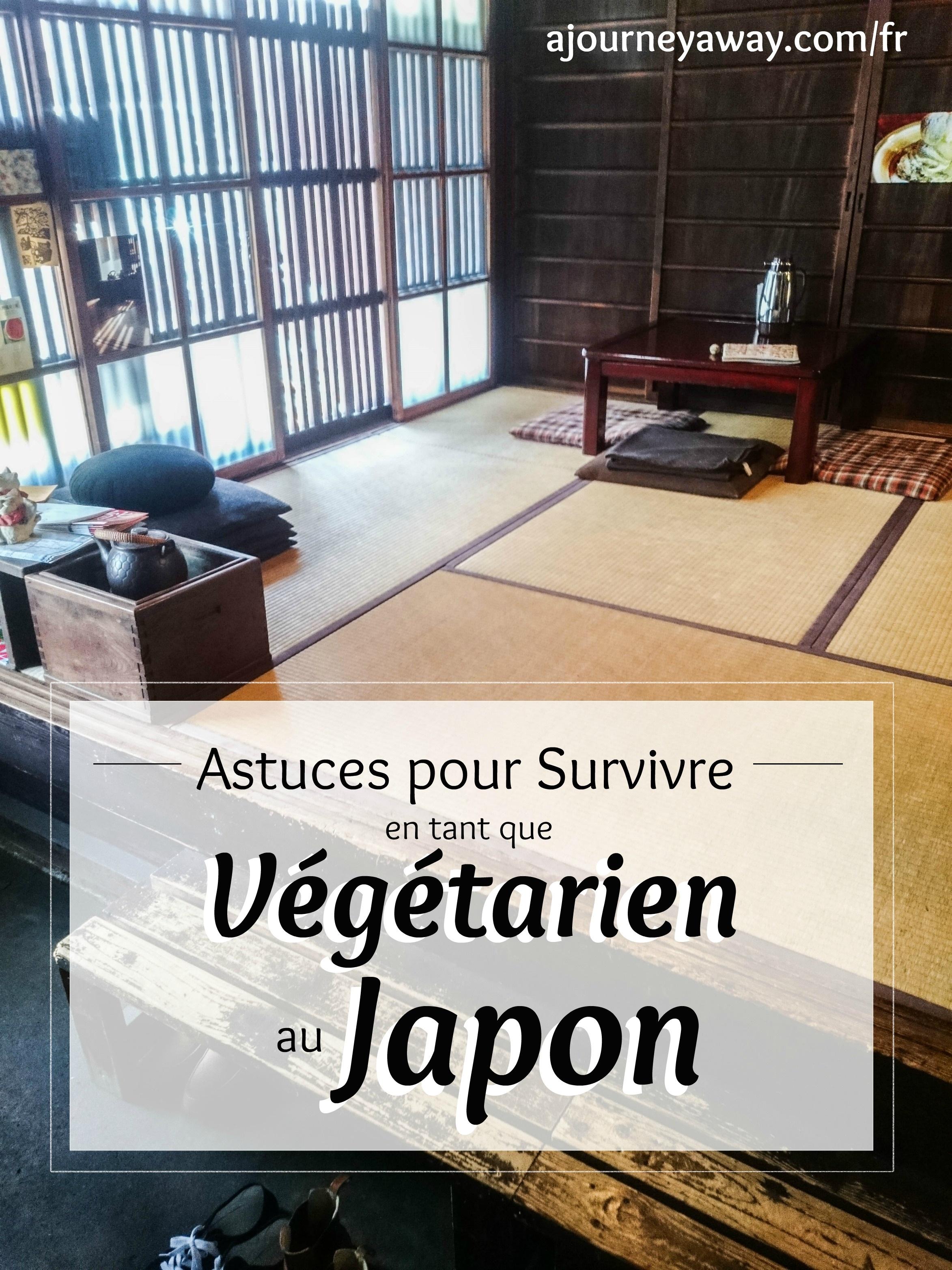 Conseils pour survivre en tant que végétarien au Japon | Blog de voyage A Journey Away